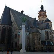 バッハが演奏した教会