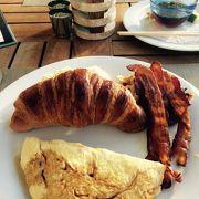 サービスが気持ちいい朝食