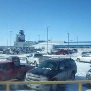 可愛らしい空港