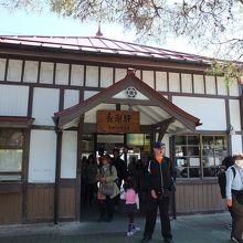 長瀞の駅舎