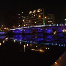 堂島川の夜景