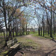 室蘭市の大きな運動公園の一つ