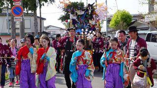 北上諏訪神社 秋葉神社火防祭