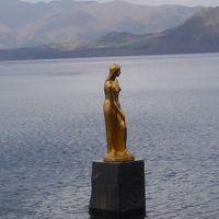 田沢湖のたつこ像・(注)ホテルからは見えません
