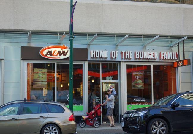 A&W レストラン (アルバーニストリート店)