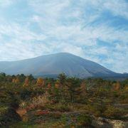 浅間山がよく見えドライブが気持ちいいです!