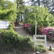 善光寺平が一望出来る公園です。