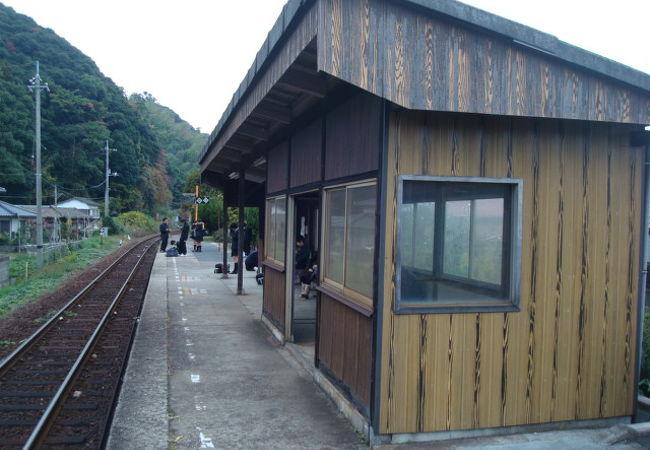 寂しい駅ですが