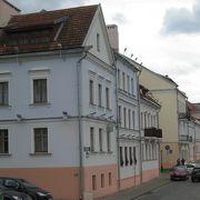 可愛い街並みのトラエツカヤ旧市街区