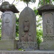 市内最古の庚申塔があるお寺