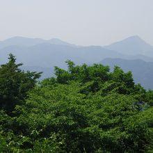武甲山を望む