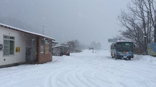 竜飛崎への玄関口。雪に包まれた三厩駅は本当に美しかったです