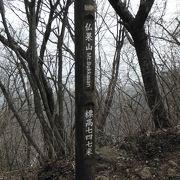 ハイキングとしては最適