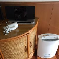 部屋のドライヤーと空気清浄機