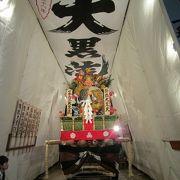 博多祇園山笠 舁き山 飾り山 山小屋見物   豪華な山(山車)