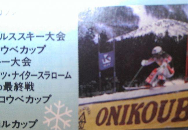 ファミリー向けのスキー場