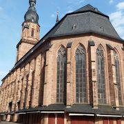 マルクト広場に面する精霊教会