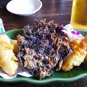 昼から沖縄料理をつまみにオリオン生
