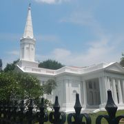 こじんまりとした教会