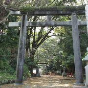 由緒ある神社