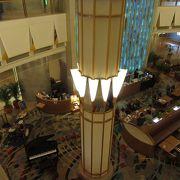 錦糸町で貴重なホテルラウンジ