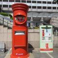 日本一大きな丸型ポスト 2.8m