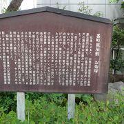 怪談「番町皿屋敷」の主人公「お菊」さんの墓(塚)