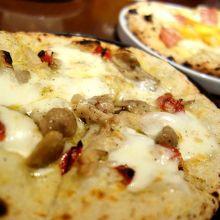 6種類のピザ食べ放題