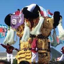 煌びやかで勇壮な太鼓祭り