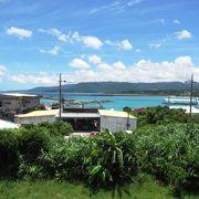 西表島北部の港