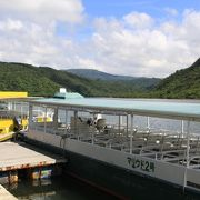 沖縄一の大河を行く