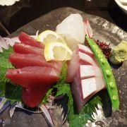 鮮魚を特色とした本店でよかった。「みかんブリ」という魚も珍しかった。