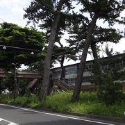 江戸時代の面影を残している松並木