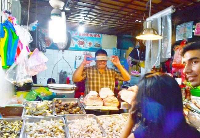 グアテマラシティの中央市場