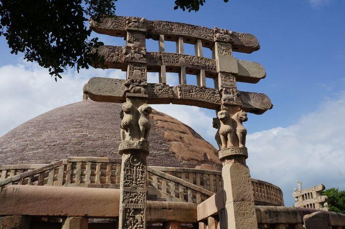サーンチーの仏教建造物群