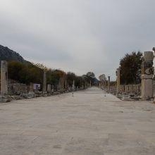 クレオパトラ女王が凱旋した道路