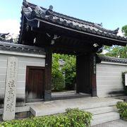 関西花の寺霊場の一つ『法金剛院』