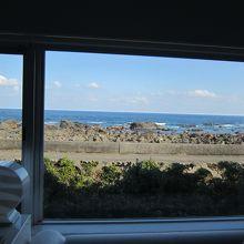 客室からの海の眺め