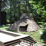竪穴式住居がありました