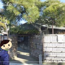 島崎藤村旧宅入口
