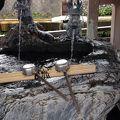 石倉町の延命地蔵の水