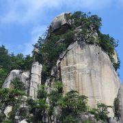 昇仙峡の白眉