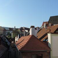 ホテルの部屋から見た旧市街の風景