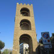 フィレンツェ城壁の一部