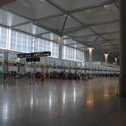 マラガ空港からバルセロナ空港移動で利用しました!!