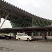 とても小さな空港です