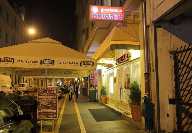 日本大使館の近所にあるレストラン