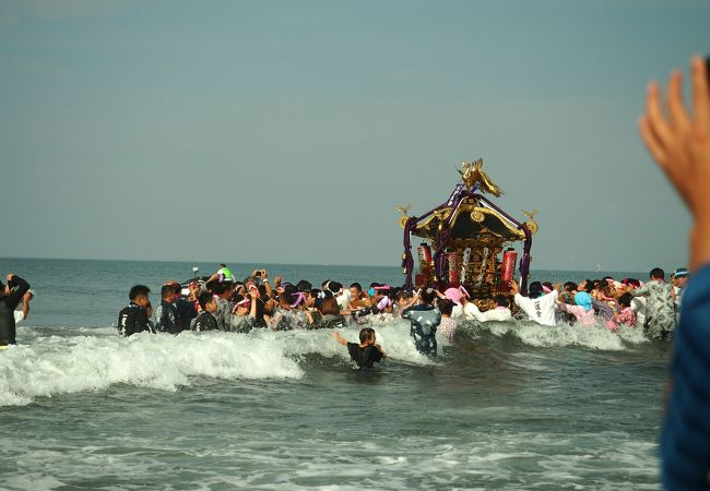 寒川神社浜降祭