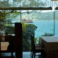 芦ノ湖畔の可愛らしいティールーム