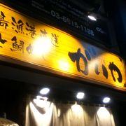 阿佐ヶ谷駅南側の魚居酒屋さん